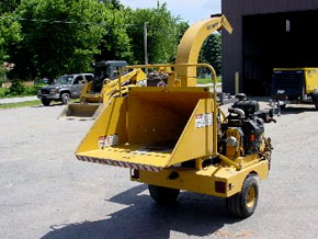 Kubota Wood Chipper