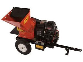 Towable Wood Chipper